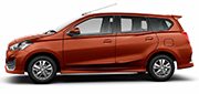All New Datsun Go+ Orange