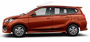 All New Datsun Go+ Orange