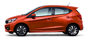 All New Honda Brio RS Phoenix Orange Pearl
