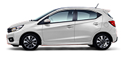 All New Honda Brio RS White