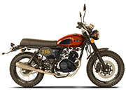 Cleveland Ace Scrambler Orange