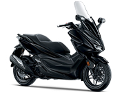 Honda Forza 250 Matt Gunpowder Black Metallic