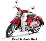 Honda Super Cub 125 Pearl Nebula Red