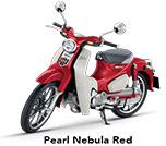 HondaSuper Cub 125 Pearl Nebula Red