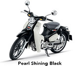 Honda Super Cub 125 Pearl Shining Black