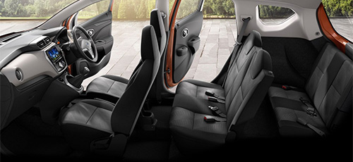 Interior All New Datsun Go+