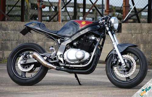 Suzuki GS500 Cafe Racer So-Low Choppers