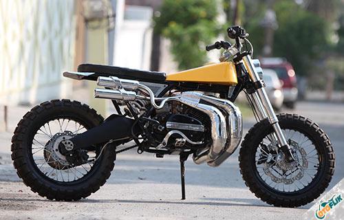 Yamaha RD 350 Scrambler Moto Exotica