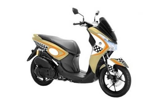 Foto Modifikasi Motor Yamaha Lexi