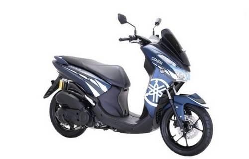 Gambar Modifikasi Motor Yamaha Lexi