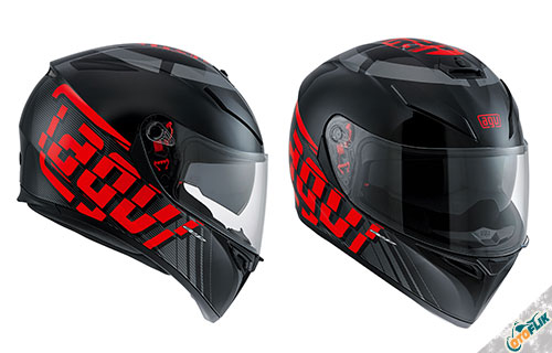 Helm Full Face AGV K-3 SV EE205 Multi Myth