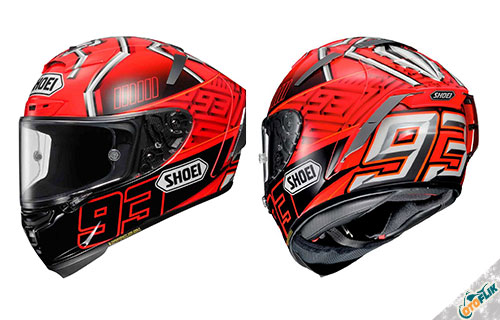 Helm Full Face Shoei X-Fourteen MARQUEZ4