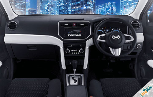 Interior Daihatsu All New Terios