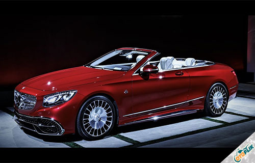 Mercedes Maybach S650 Cabriolet