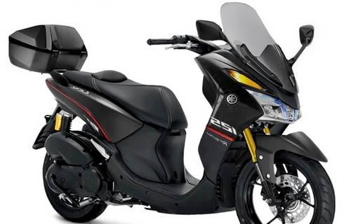 Modifikasi Jok Motor Yamaha Lexi