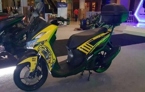 Modifikasi Motor Yamaha Lexi Keren