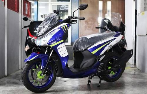 Modifikasi Motor Yamaha Lexi Putih