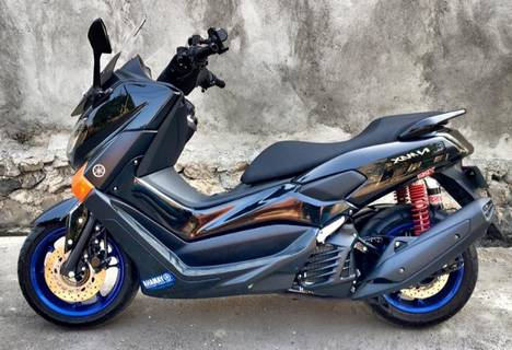 Modifikasi Motor Yamaha Nmax Hitam