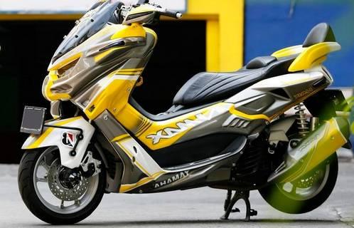 Modifikasi Motor Yamaha Nmax Keren