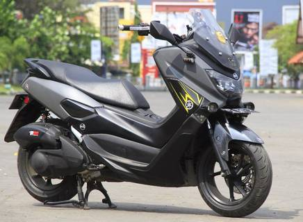 Modifikasi Motor Yamaha Nmax Simple