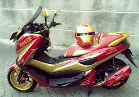Modifikasi Nmax Iron Man Keren