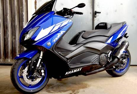 Modifikasi Yamaha Nmax Biru Keren
