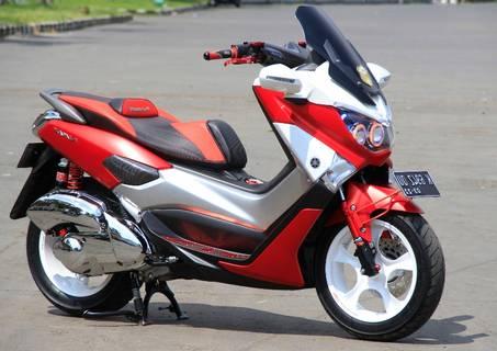 Modifikasi Yamaha Nmax Keren Merah