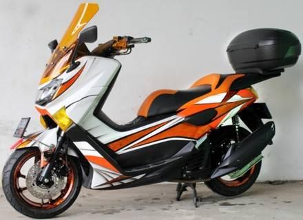 Modifikasi Yamaha Nmax Keren Orange