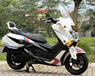 Modifikasi Yamaha Nmax Keren Polisi