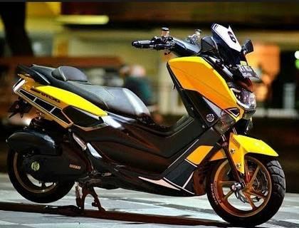 Modifikasi Yamaha Nmax Keren