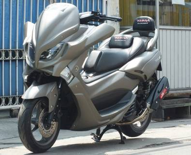 Modifikasi Yamaha Nmax Simple Abu Abu