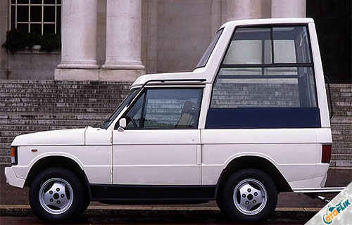 Range Rover Popemobile by Ogle