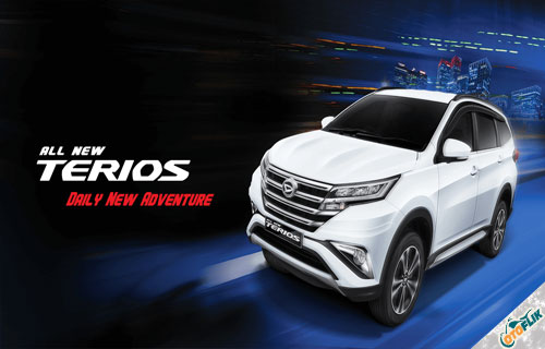 Spesifikasi dan Harga Daihatsu All New Terios 2018