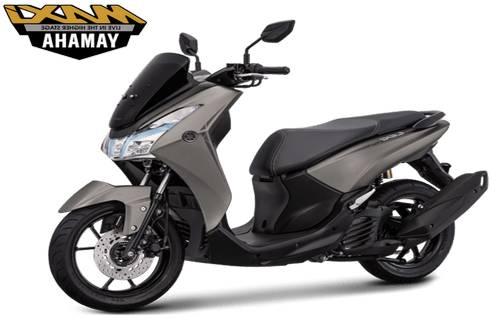Yamaha Lexi S Warna Abu Abu