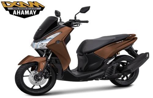 Yamaha Lexi S Warna Coklat
