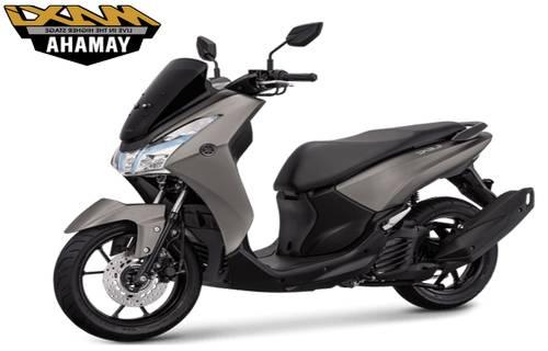 Yamaha Lexi Warna Abu Abu
