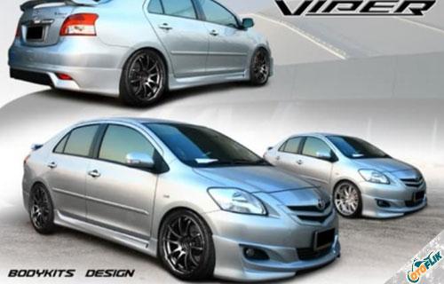 Bodykit Toyota Vios Viper 2007-2012