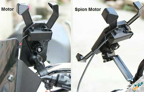 Charger Motor Vinyx 2 in 1, Holder + Charger