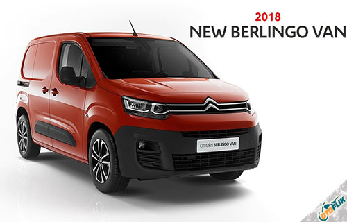 Citroen New Berlingo Van