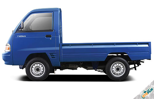 Mitsubishi T120SS Pick Up 3 Way Wide Deck