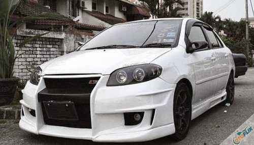Modifikasi Bodykit Vios 2