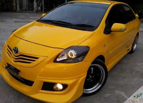 Modifikasi Bodykit Vios 8