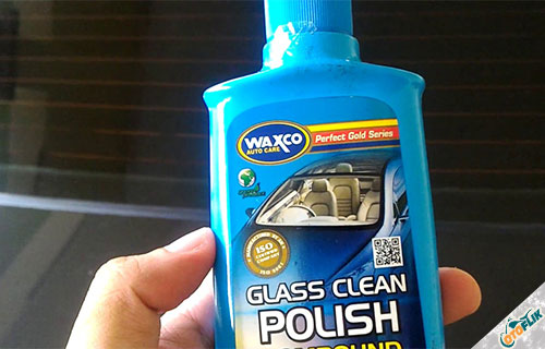Waxco Glass Clean & Polish Compound