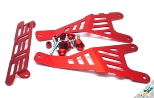 Dudukan Plat Motor Nmax Merah