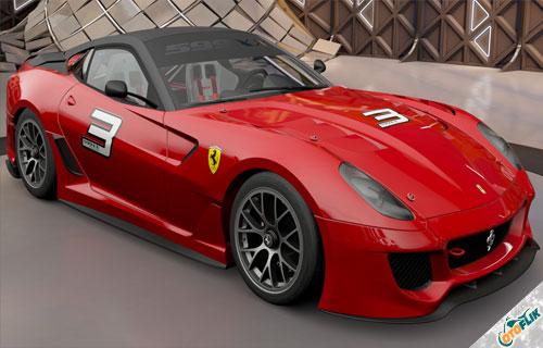Mobil-Terkeren-di-Dunia-Ferrari-599XX