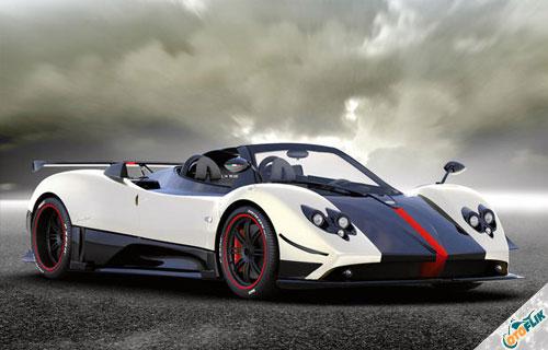 Mobil-Terkeren-di-Dunia-Pagani-Zonda-Cinque-Roadster