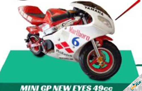 Motor Mini GP New Eyes 49cc