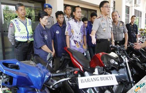 Kasus Pencurian Sepeda Motor
