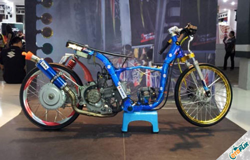 36 Foto Modifikasi Motor Yamaha Force One Jadi Trail Dan Drag