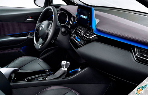 Interior Toyota C-HR